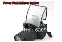 100% GUARANTEE  New Durable Plastic MQ-B3 Pop-up Flash Diffuser Softbox for DSLR Camera Built-in Flash Speedlight