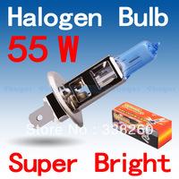 H1 Super Bright White Fog Halogen Bulb Hight Power 55W Car Headlight Lamp Parking Car Light Source parking