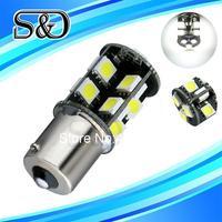 S&D Brand 12pcs 1156 BA15S 19 SMD Pure White CANBUS OBC Error Free  Car 19 LED Light Bulb p21w