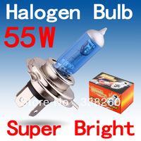 H4 Super Bright White Fog Halogen Bulb Hight Power 55W Car Headlight Lamp type:H4 Parking Car Light Source parking