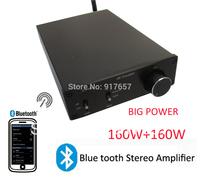 bluetooth kit for loudspeaker, Hi-Fi Stereo Digital Wireless Bluetooth Amplifier,high power Class D audio HIFI mimi amplifier