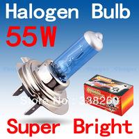 H7 Super Bright White Fog Halogen Bulb Hight Power 55W Car Headlight Lamp Parking Car Light Source parking