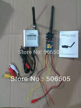FPV 5.8Ghz 2000mW  Audio and Video Wireless Transmitter with Receiver  5.8G 2W AV Sender