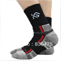Antibiotic coolchange sports ride thickening quick-drying moisture wicking full towel socks hiking socks