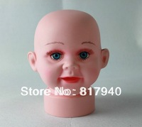 HOT SALE!mannequin dummy head,Plus Size child mannequin head ,Baby Mannequin Head for hat diplay