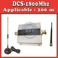 Mini DCS Booster 1800MHz 200M2 DCS Signal Booster Amplifier Repeater Omni direction outdoor antenna