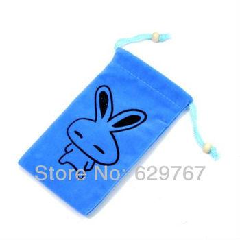 Fashion High-quality phone protection bag Double-layer velvet bag Wholesale Drop ship