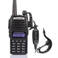 radio walkie talkie baofeng new firmware UV-82,fm radio station,vhf uhf Dual Band,compared alan midland free earpiece