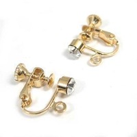 59 5mm hao drilling adjustable screw earrings no pierced earrings invisible ear clip earrings