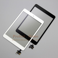 Free shipping replacement  For iPad Mini Digitizer Touch Screen with IC Connector & HOME FLEX Assembly 3pcs/lot