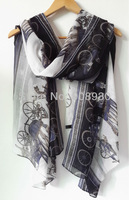 Hot Sale 100% Viscose Women Scarf Shawl Royal Horse and Gharry Fashion Design Soft Feeling Scarves Wholesale Gift
