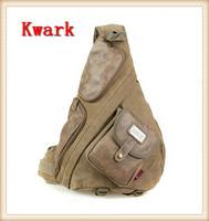 2014 Aerlis Big canvas chest pack vintage messenger bag man outdoors bags male Cell phone pocket shoulder Traveling bag bakpack