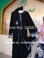 High Quanlity Embroidery  Chiffon Abayas Muslim Clothing,Arabic Abaya In Dubai,Fashion Jilbab For Women,Free Shipping
