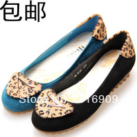 free shiping 2013 spring Large women's  plus size Large ladle shallow mouth shoes flats C1