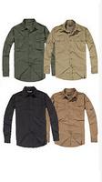 FREE SHIPPING Mens Casual Military Outdoor Tactical Sports Short Long Sleeves Shirts Top