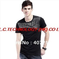 2013 T Shirt Men  Summer Shirts For Men Casual T Shirts Men's T-Shirt Man Sport Tshirt