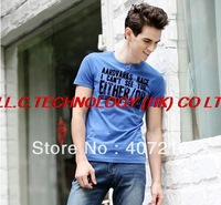 Mens Designer Quick drying Casual T-Shirts  Fashion Shirt Slim Fit Tops New Sport Shirt