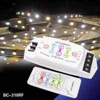 LED Color Temperature Controller 2CH Dimmer with 8 keys RF remote DC12V~24V led dimmer