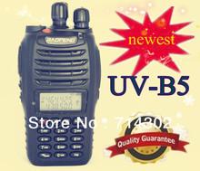 Newest ( new package and charger ) BAOFENG UV-B5 dual band walkie talkie UVB5 two way radio hongkong post free shipping