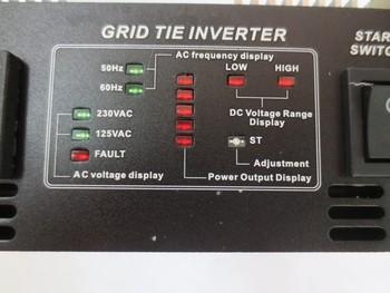22-60V 500 Watt Solar Grid Tie Inverter Pure Sine