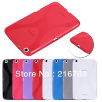 2013 New Arrvial! High Quality TPU Protective Waterproof Case for Samsung Galaxy Tab 3 8.0 T310 T311 Free Shipping