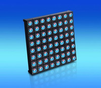 LED RGB Full Color 8x8 5mm Dot Matrix Display Array Module Common Anode 2.4''*2.4'' Free Shipping by HKPost