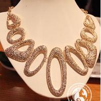 Sunshine jewelry store Vintage chain collar necklace necklaces & pendants statement necklace