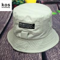 Summer 100% cotton double faced sunbonnet outdoor sunscreen general bucket hat bucket hats cotton cloth hat