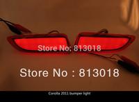 High quality For Toyota corolla 2011 Reflector LED back Tail Rear Bumper Light Brake lamp fog light