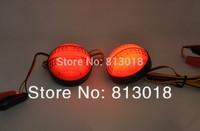 High quality For Toyota Highlander 2009 2010 2011 Reflector LED back Tail Rear Bumper Light Brake lamp fog light