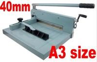 Desktop Stack Paper Cutter Guillotine A3 size Cutting Machine 40mm thickness