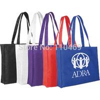 Solid Color Non Woven Bag, Non Woven Tote Bag, mix color non woven bag,