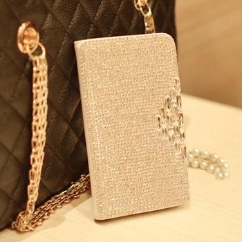 Hot 2013 NEw Fashion Full Bling Diamond Rhinestone Case for Iphone 5 5g phone housing with free gift box