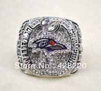 Free Shipping replica 2012 Baltimore Ravens Super Bowl XLVII World Championship Ring Size 11