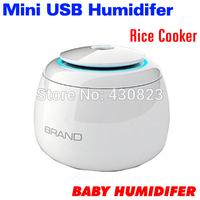 2014 Super Dual Free Shipping Mini USB Home Humidifier Support Humidifying/Aroma diffusion/Air Purification Baby Humidifier xmas