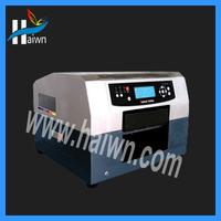 Direct to garment printer / small flatbed printer /chiffon printer a4 sizes  HAIWN-T400