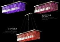 Name Brand 2013 Modern Luxury Fashion Free Shipping DrawingRoom Bedroom Crystal Pendant Chandelier Light L100cm*W25cm 110-240V