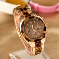 Promotion Hot Sale Free Shipping Fashion Women Watches Lady Geneva Bracelet Wristwatches Women Alloy Band