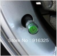 Hot Sale! 2sets Car Tire Pressure Monitor Valve Stem Cap Sensor Indicator Eye Alert Free Shipping