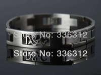 BA1112034 silver shiny Cutout scorpion in Stainless Steel Men's bracelet chain bangle