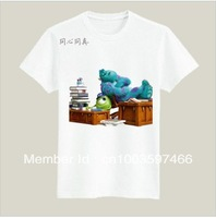 Y97 free shipping Monster Inc Monster University 100% cutton Short T shirt for KIDS gift