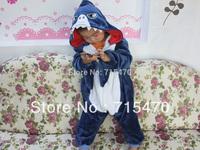 Shark Unisex Pajamas  Children Anime Cosplay Costume Sleepsuit Cute