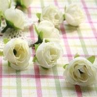 100pcs/lot  3cm Mini rose Artificial Silk Flower Decoration flowers heads DIY