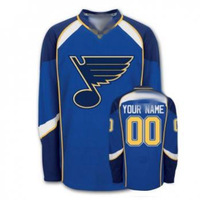 Custom Hockey St. Louis Blues Jerseys Authentic personalized - China Wholesale Cheap ICE Jerseys Number & Nane Sewn On (XS-6XL)