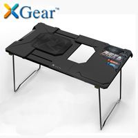 Brand laptop cooling base, portable folding computer desk with a large cooling fan, deluxe bed table and coffee table,