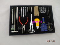 20pcs Horologe Wrist Watch watchmakers Case Opener Repair Tools Set Kit,  H163