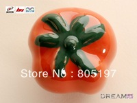 free shipping Single Hole  ceramic Cabinet Knobs Amber , Furniture Handles ,Drawer pull