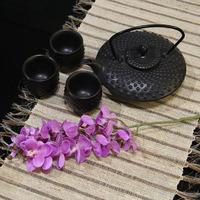 For 5 pcs Artificial flowers  orchid  artificial orchid silk flower home wedding decoration flower flores artificiales