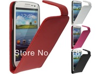 4 Color,High quality leather case for Samsung Galaxy Grand i9080/i9082,100%Real cowhide cover,Free shipping