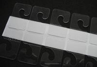 [DHL]Lowest  5000pcs Self-adhesive J Hook   Hanger  for supermarket - Hang Tab